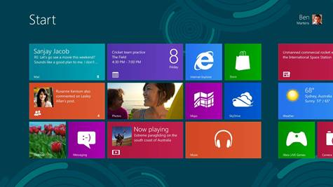Windows 8 Preview - Microsoft releases Windows 8 Preview with Product Key
