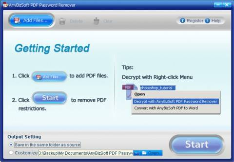 Grab PDF Password Remover (Worth $19.95)for FREE