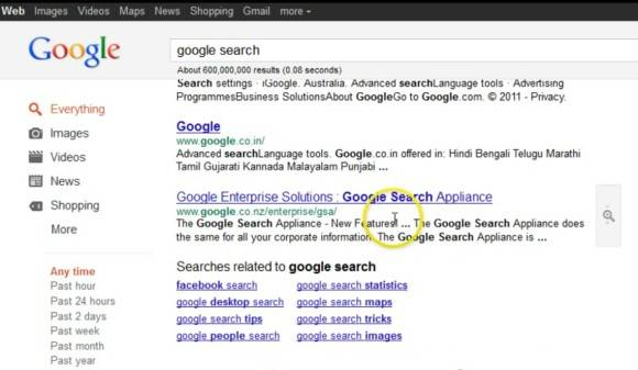 Google search with infinite scrolling just like Image search coming soon