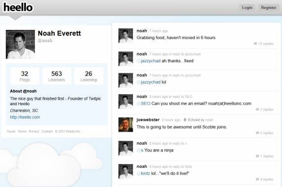 heello twitter - Twitpic Founder launches Twitter clone Heello