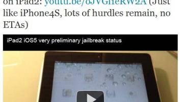 iPAd 2 iOS 5 Jailbreak - iPad2 iOS5 jailbreak coming Soon [Working Video]