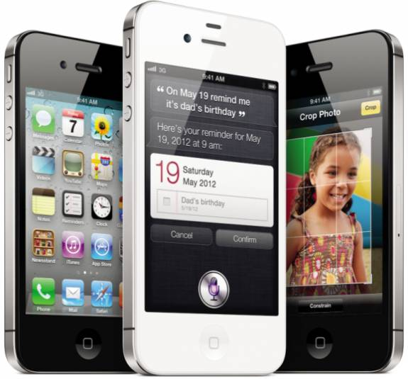 Apple iPhone 4S Sales top Four Million in just three days