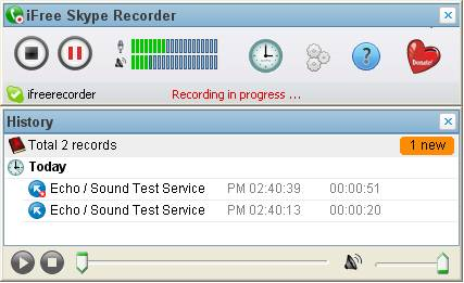 Record skype calls with iFree Skype Recorder