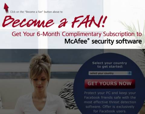 Grab 6 months McAfee Anti virus Plus subscription again For FREE