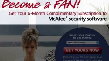 Grab 6 months McAfee Anti virus Plus subscription again For FREE 5