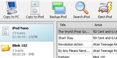 Backup, Restore, copy music & videos to and from IPod