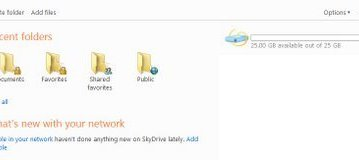 Microsoft Skydrive - 25GB free Online Hard-Drive 3