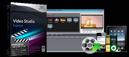 video studio express - Giveaway: Wondershare Video Studio Express to edit Movies, Make Videos