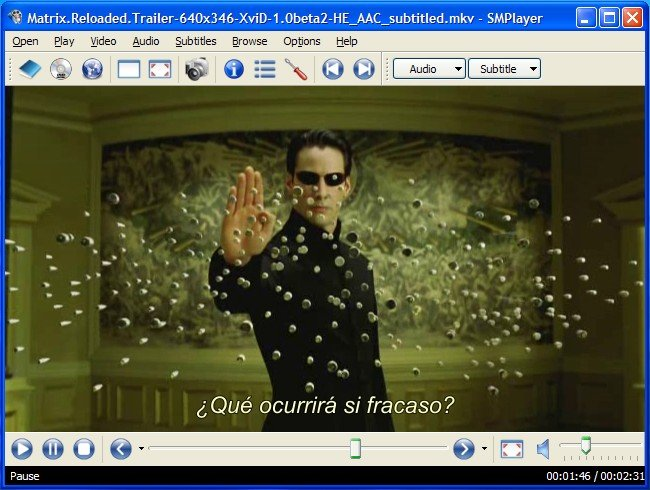 MPlayer – Play anything , almost all formats of Audio and video