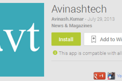Android App for Avinashtech is here, Download it 2