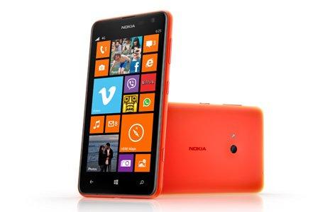 Lumia 625 - Nokia announces Lumia 625: 4.7' IPS display, 1.2GHz Dual Core Snapdragon S4 Processor, 5 MP camera, 4G