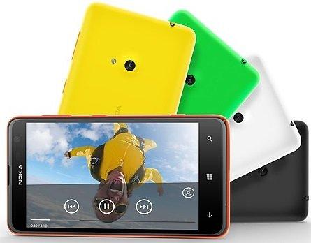 Lumia 625 movies- back cover