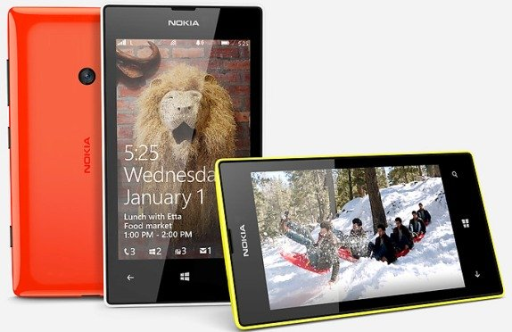 Nokia Lumia 525 - Nokia unveils Lumia 525 with 1 GB RAM (revamped Lumia 520)