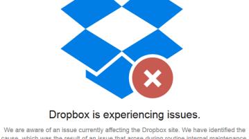 Dropbox goes down, Hackers claim credit, Dropbox denies Hack 8