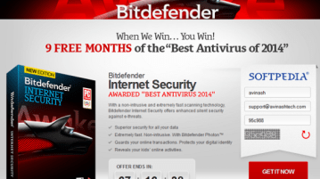 Download Free Bitdefender Internet Security 2014 License key (9 months) 5