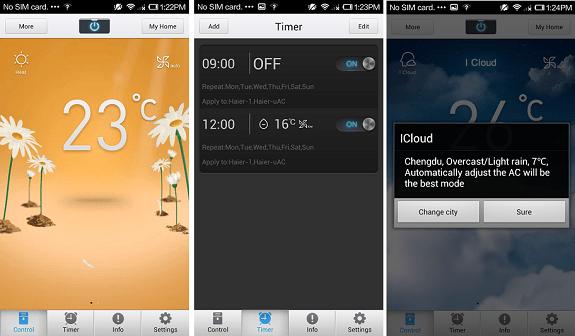 Haier Smart AC app