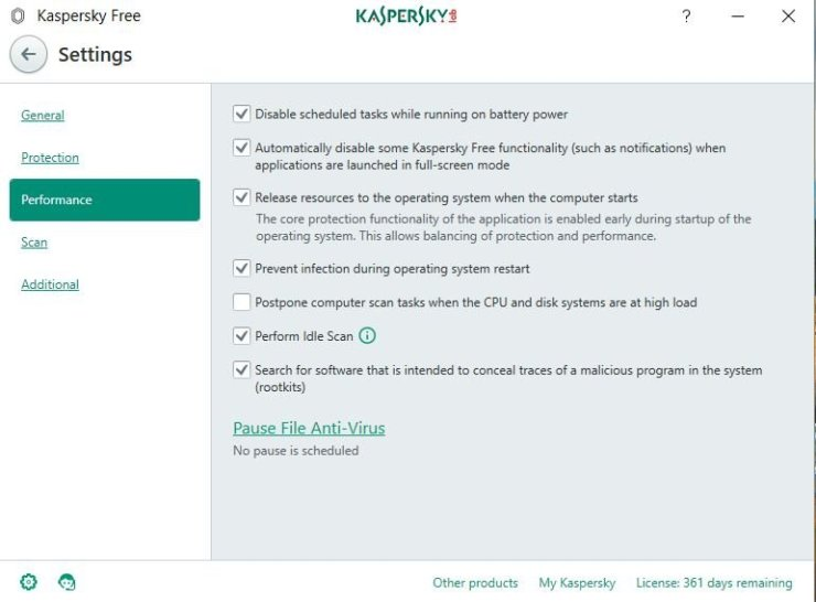 Kaspersky Free Antivirus: Review 4