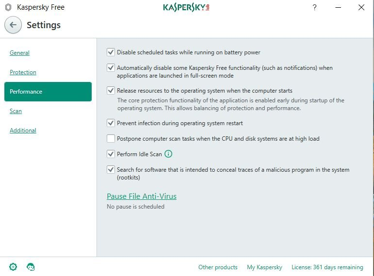Kaspersky Free Antivirus: Review 10
