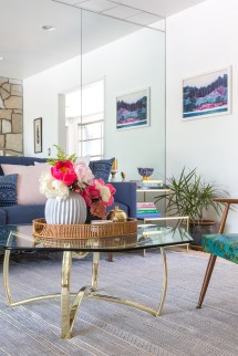 Mid Century Eclectic Living Room