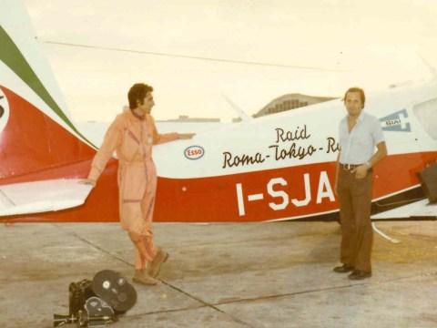 Mario Panvini Rosati e Giancarlo Zane SIAI 205