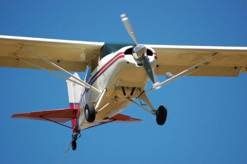 Maule I-AIMA in atterraggio a San Mauro