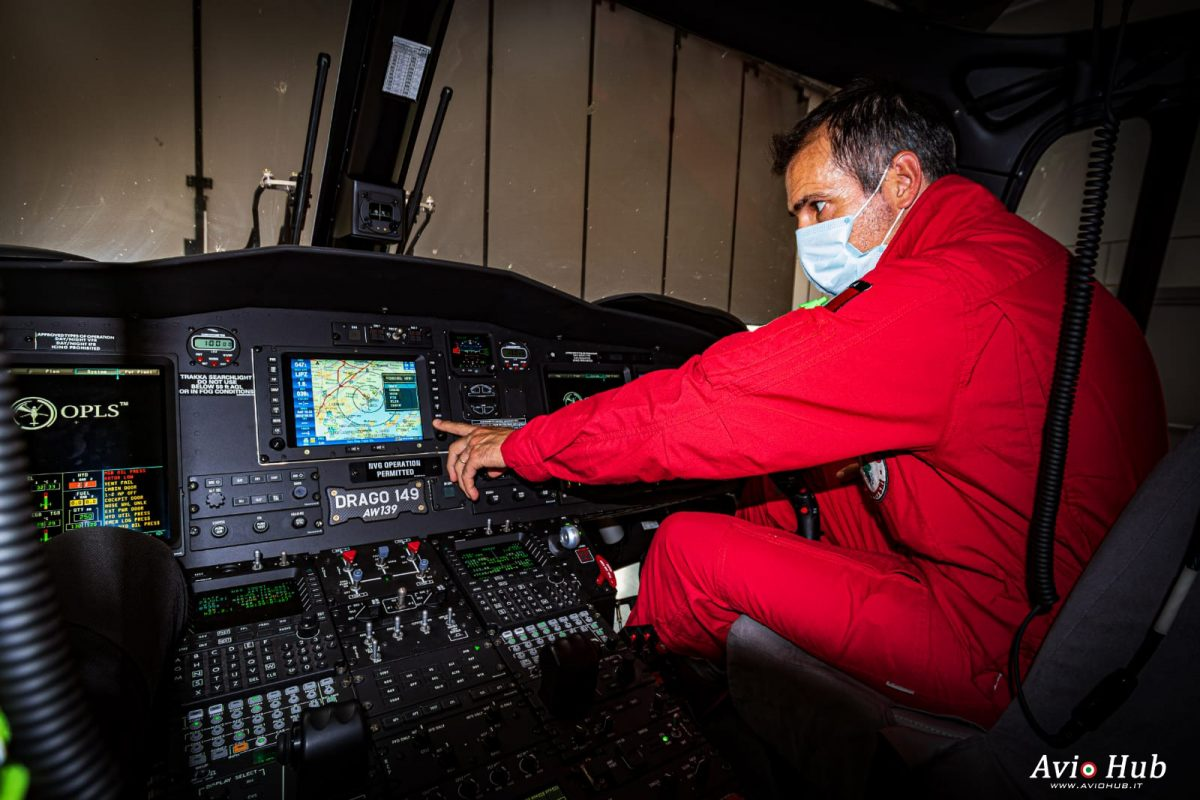 Pilota dei Vigili del fuoco