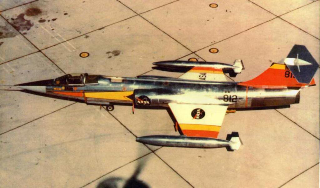 F-104_Starfighter_NASA