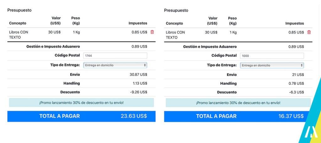 Aerolineas Argentinas Courier