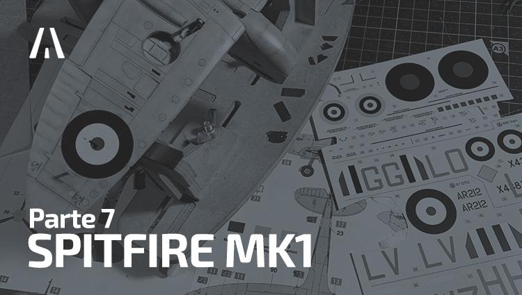 Spitfire Mk.1 - Colocando las calcas (parte 7)