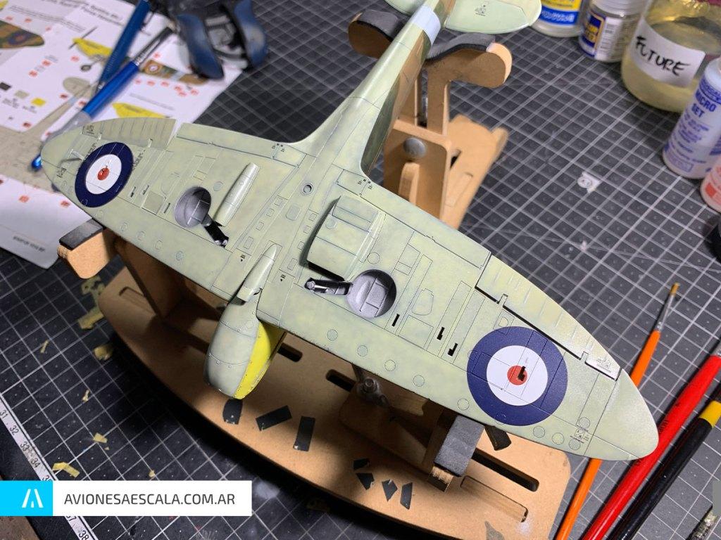 Spitfire Airfix Decals Aviones a Escala