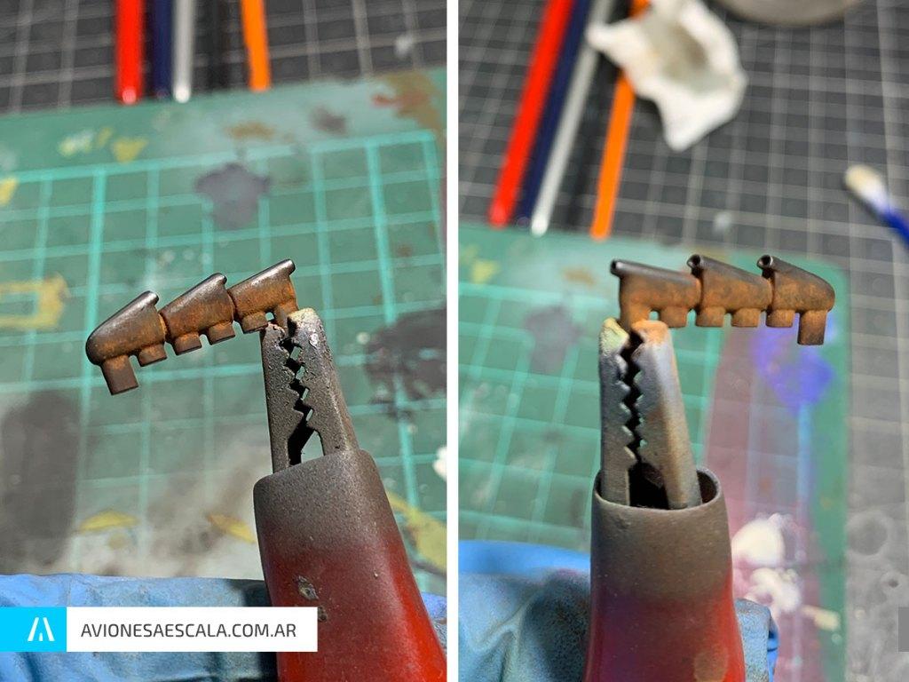 Spitfire mk1 weathering aviones a escala