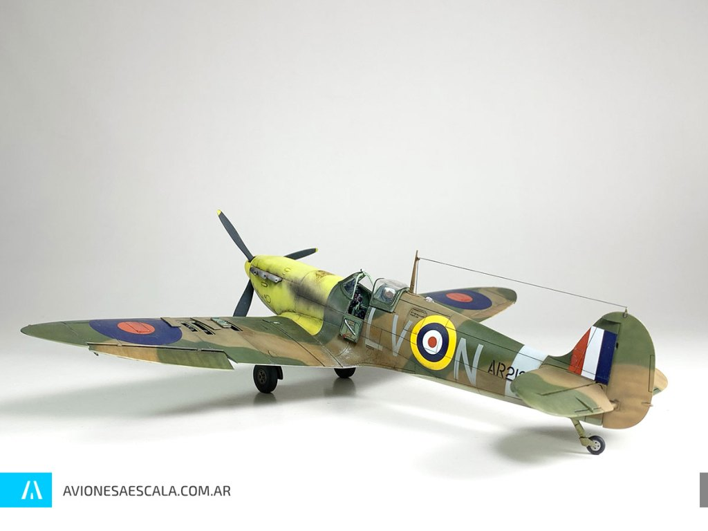 Spitfire Mk1 Airfix Aviones a Escala