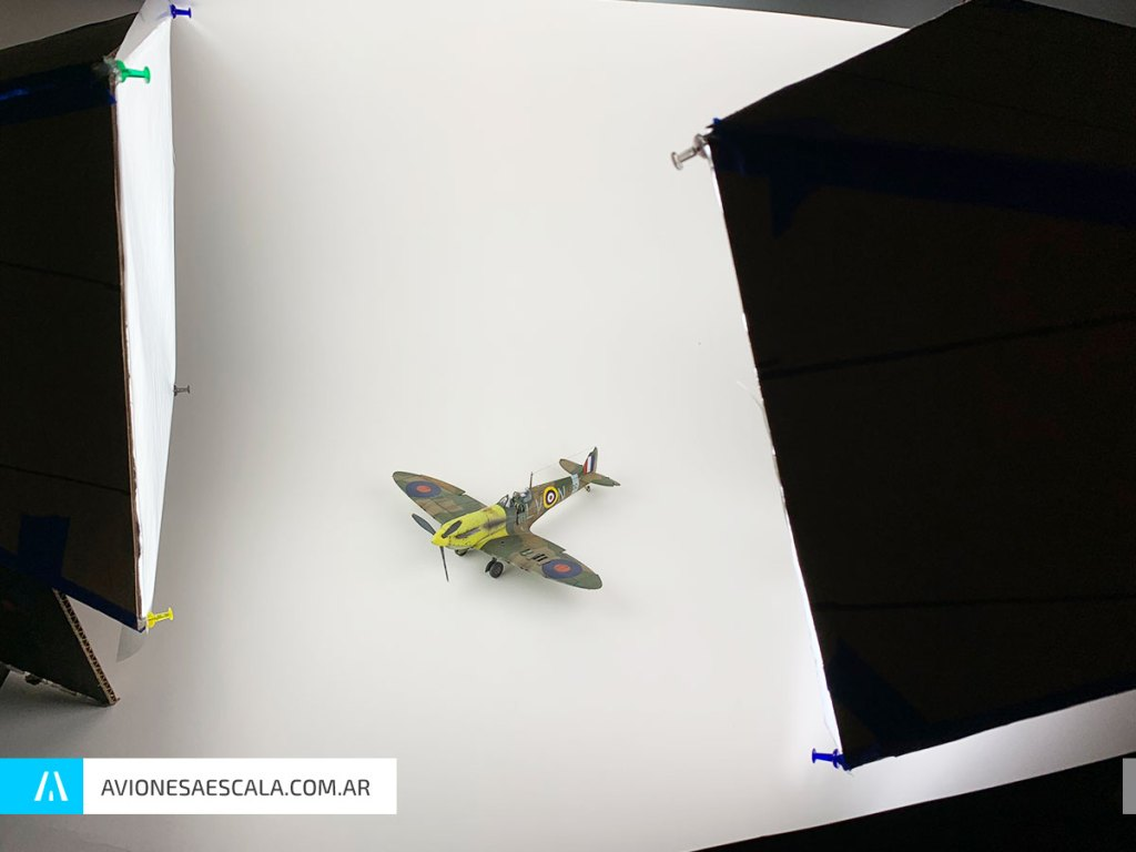 Softbox Aviones a Escala