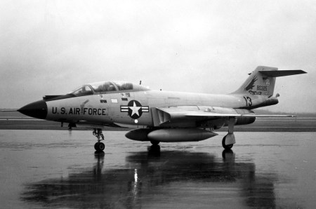 McDonnell F-101B. (U.S. Air Force photo)