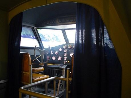 Le poste de pilotage