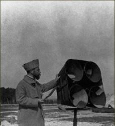 Détecteur d'approche de Zeppelins - WWI