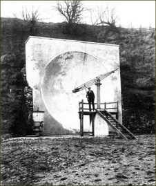 Miroir acoustique de Hythe en 1923