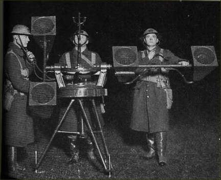 1940 - Londres - Blitz Sound Locator Mk VI (2)