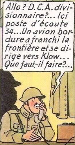 Tintin le sceptre d'Ottokar Hergé - 1947