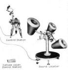 USA - Sound Locator M2 relié à sa station de contrôle
