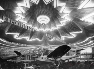 Salon 1934 le grand lustre