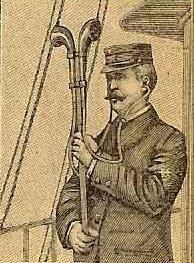 Topophone de Heap - US Patent Office, Serial N° 609,664 - 22 Octobre 1896