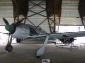Fw-190, l'un des fleurons du hall.