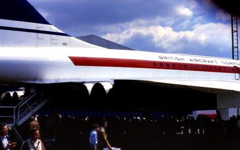 Le Concorde est en exploitation