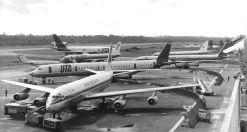 Un exemple du trafic aérien en 1975 (Photo Air Afrique)