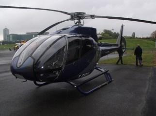 Le toujours aussi élégant Eurocopter EC130 civil.