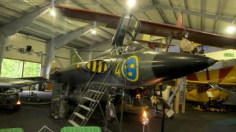 Saab J35F Draken