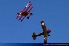 Fokker Dr.1 et RAF SE.5