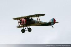 Nieuport 28 - Meeting Armée de l'Air - Nancy 2014