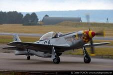 P-51 Mustang - Meeting Armée de l'Air - Nancy 2014